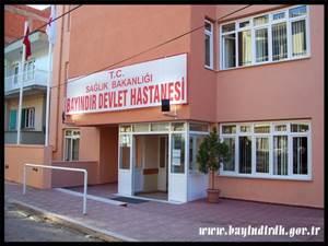 İzmir Bayındır Devlet Hastanesi Resmi